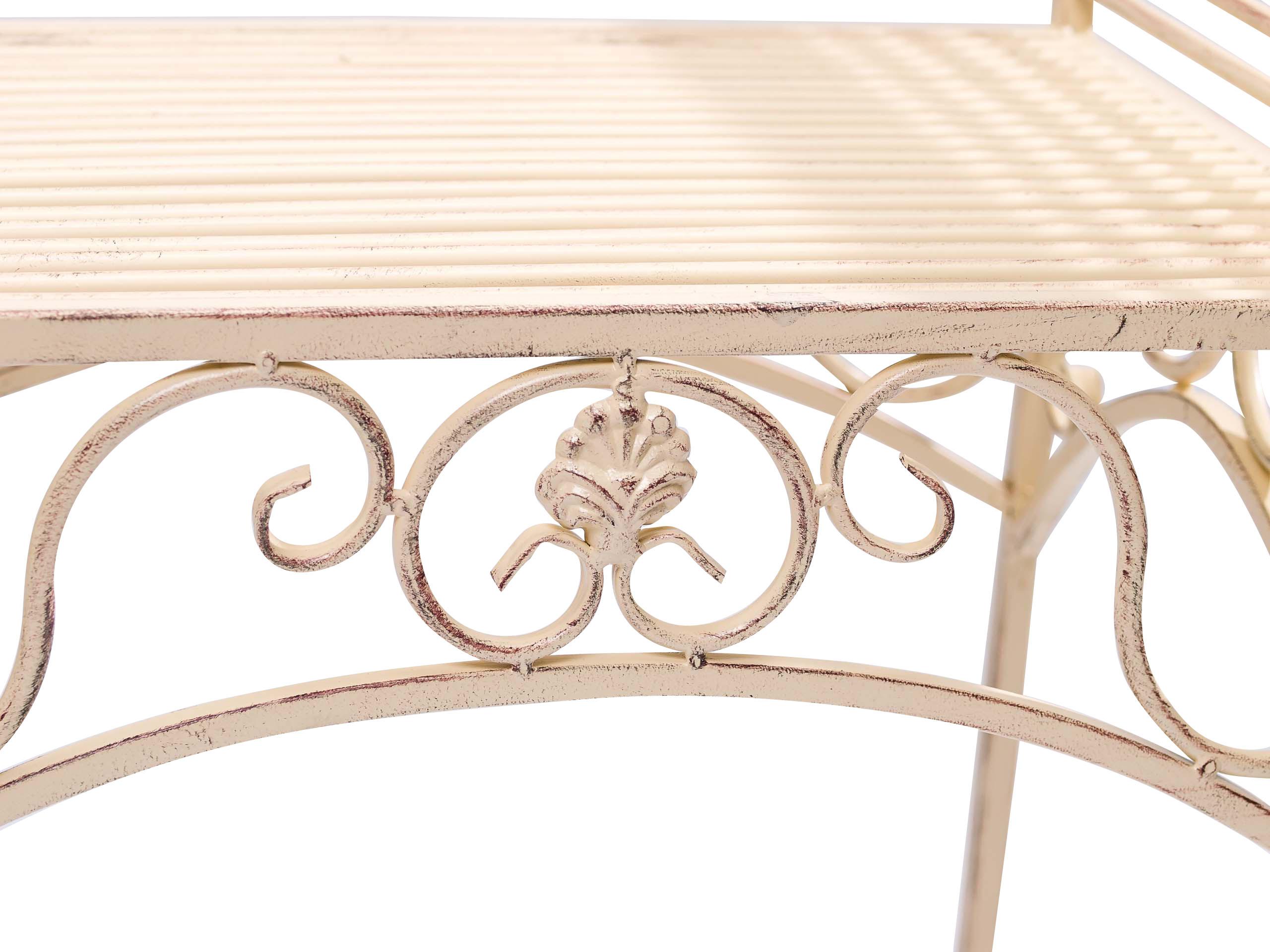 gartenbank eisen metall antik stil garten bank gartenm bel. Black Bedroom Furniture Sets. Home Design Ideas