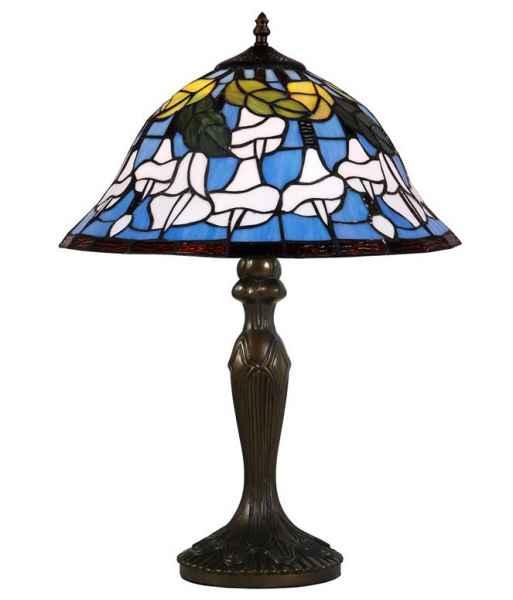 Lampada Da Tavolo Lampada Da Scrivania Stile Tiffany Fiori Stile Antico D Aubaho