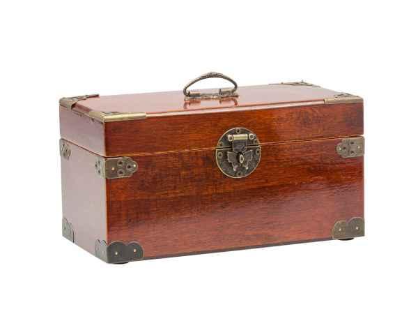 Schmuckschatulle Schmuckkasten antik Stil Dose Box Holz für Schmuck jewelry box