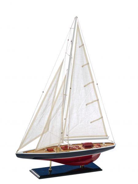 Modellschiff Segelyacht Yacht Holz Schiff Boot Segelboot Schiffsmodell Maritim