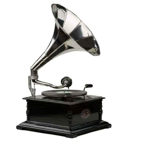 2019 Fashion Grammophon Gramophone Dekoration Trichter Grammofon Messing Antik-stil X03 Collectibles Other Phonographs
