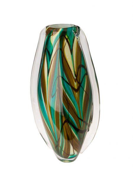 Glasvase Glas Vase im Italien Murano antik Stil Höhe 41cm 4kg schwere Tischvase