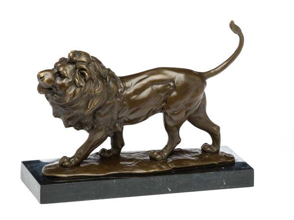 Bronzeskulptur Löwe Raubtier Bronze Skulptur Figur Bronzefigur Statue lionBronzeskulptur Löwe Raubtier Bronze Skulptur Figur Bronzefigur Statue lion