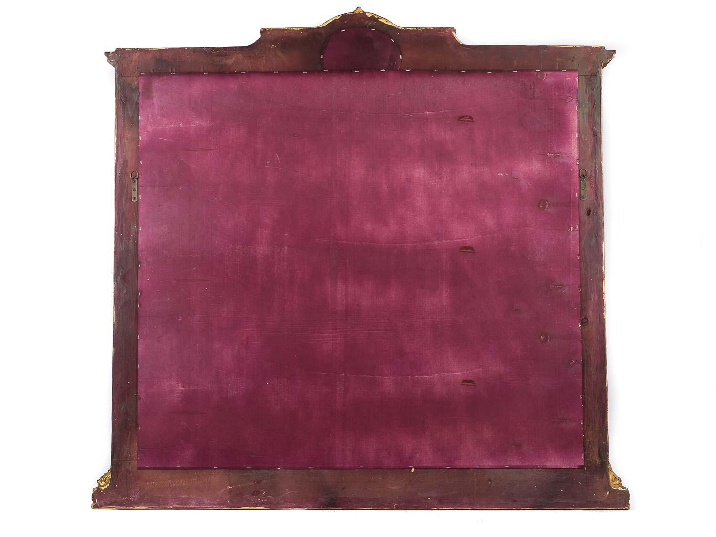 xxl spiegel mit gem lde louis xvi antik stil prunkspiegel 153x148cm wandspiegel aubaho. Black Bedroom Furniture Sets. Home Design Ideas