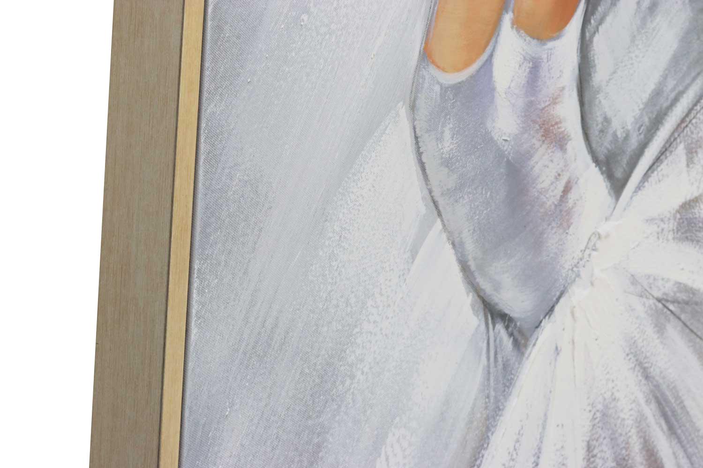 Original oil painting, dancer, ballerina, dancing, modern picture 84x84cm