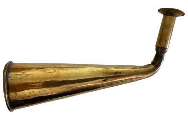 Hörrohr Hörmaschine Antik-Stil Stethoskop Hörgerät Tröte Signalhorn Arzt