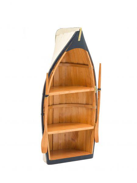 Zum Heranzoomen mit der Maus über das Bild fahren Ähnlichen Artikel verkaufen? Selbst verkaufen Details zu  Regal Boot Holz Bootsregal Wandregal Schiff Maritime Deko Schrank 62cm