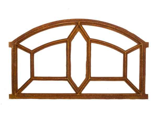 Stallfenster Eisenfenster Scheunenfenster Eisen Fenster 90x54cm im Antik-Stil