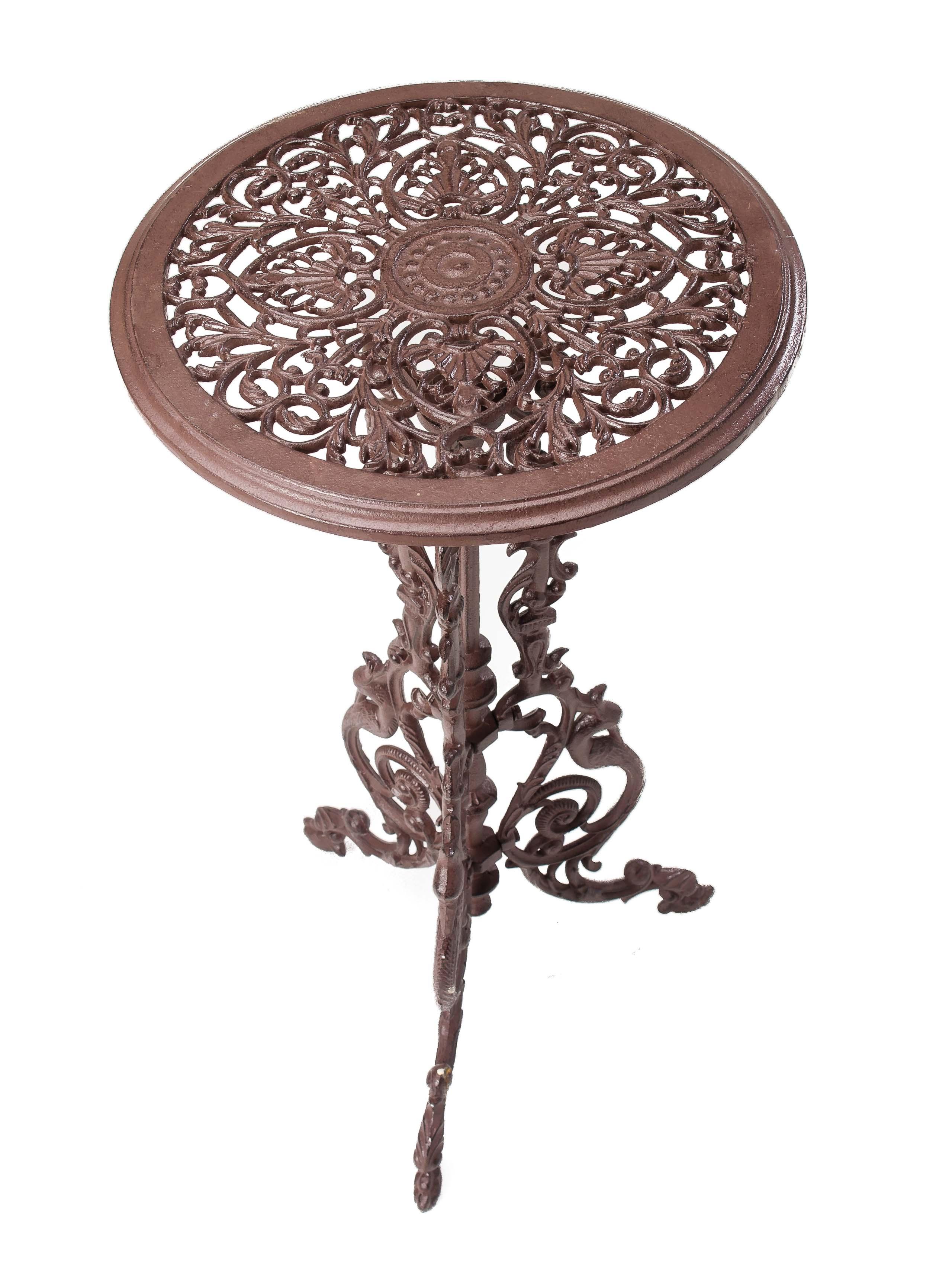 Gartentisch Gusseisen 9cm Tisch Beistelltisch Eisen Antik Stil ...