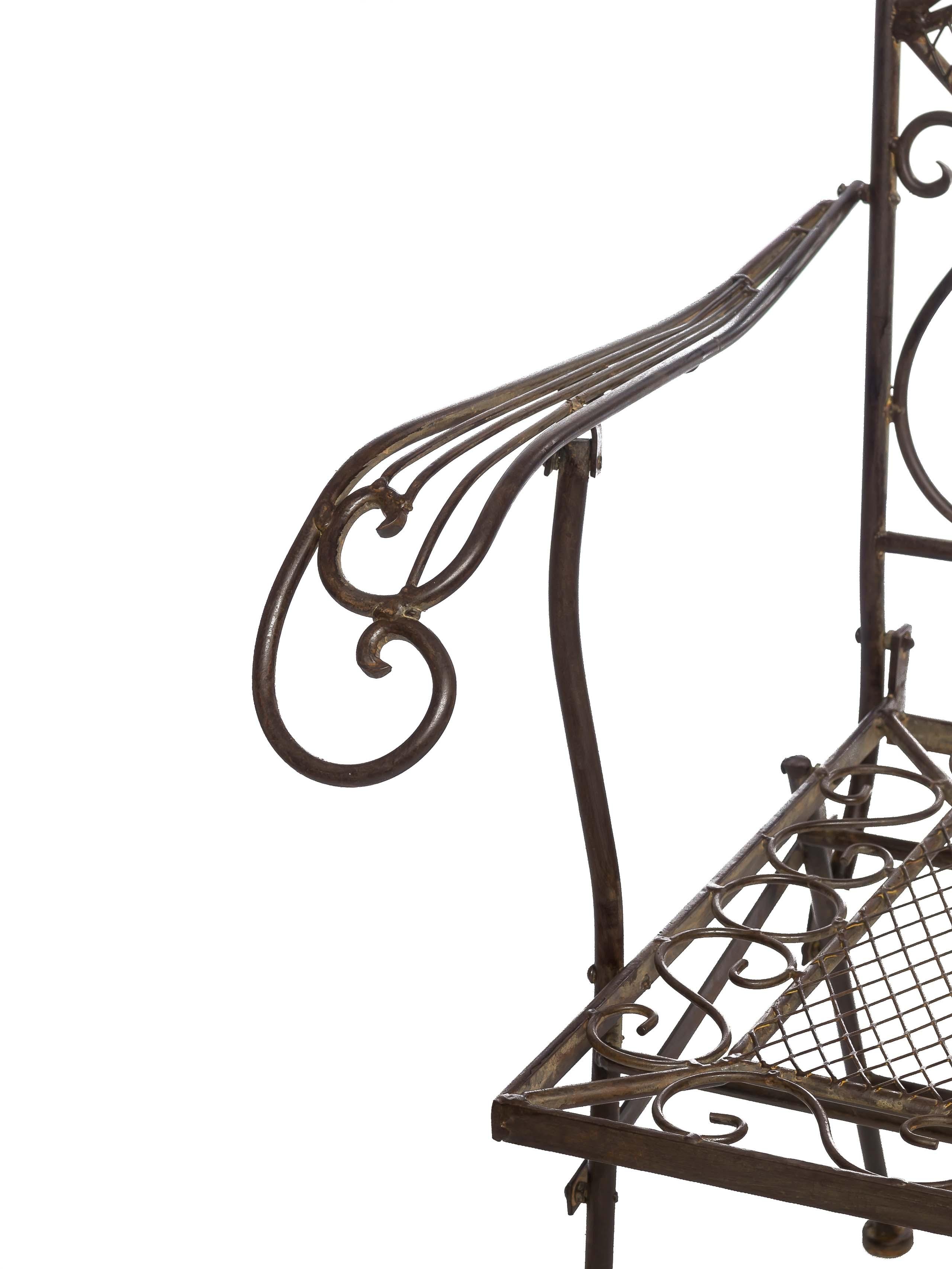 Nostalgia GIARDINO POLTRONA FERRO 15kg giardino sedia poltrona sedia stile antico chair IRON