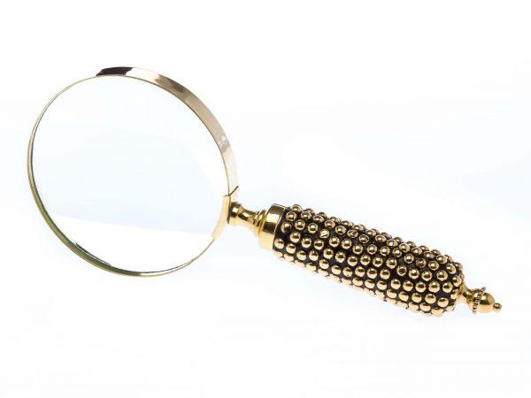 Lupe Leselupe Lesehilfe im Antik-Stil Handlupe Sehhilfe Vergrößerungsglas A427