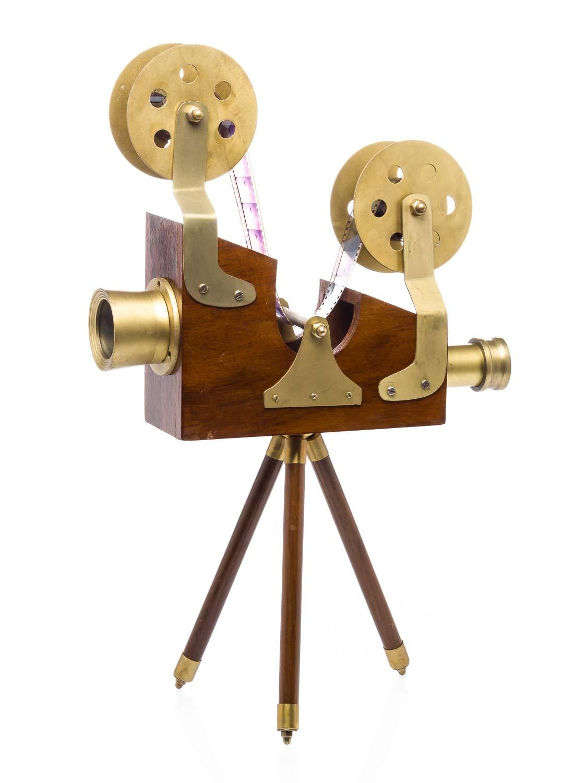 Filmprojektor film projektor antik stil dekoration nostalgie movie repro kino aubaho - Dekoration kino ...