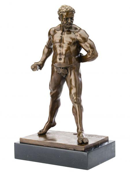 Bronzeskulptur Herkules