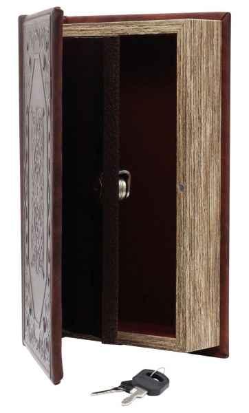 Buchtresor Buchsafe Buchattrappe Geheimversteck Geheimsafe Box mit Schlüssel a