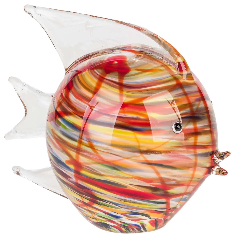 Glasfigur Figur Frucht Glas im Murano Antik Stil 10cm