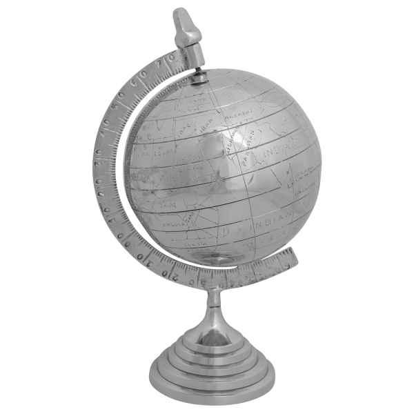 Globus Weltkugel Tischglobus Weltglobus Messing 47cm Erdkugel