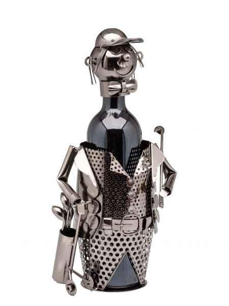 Flaschenständer Golf Golfer Flaschenhalter Weinständer Flasche