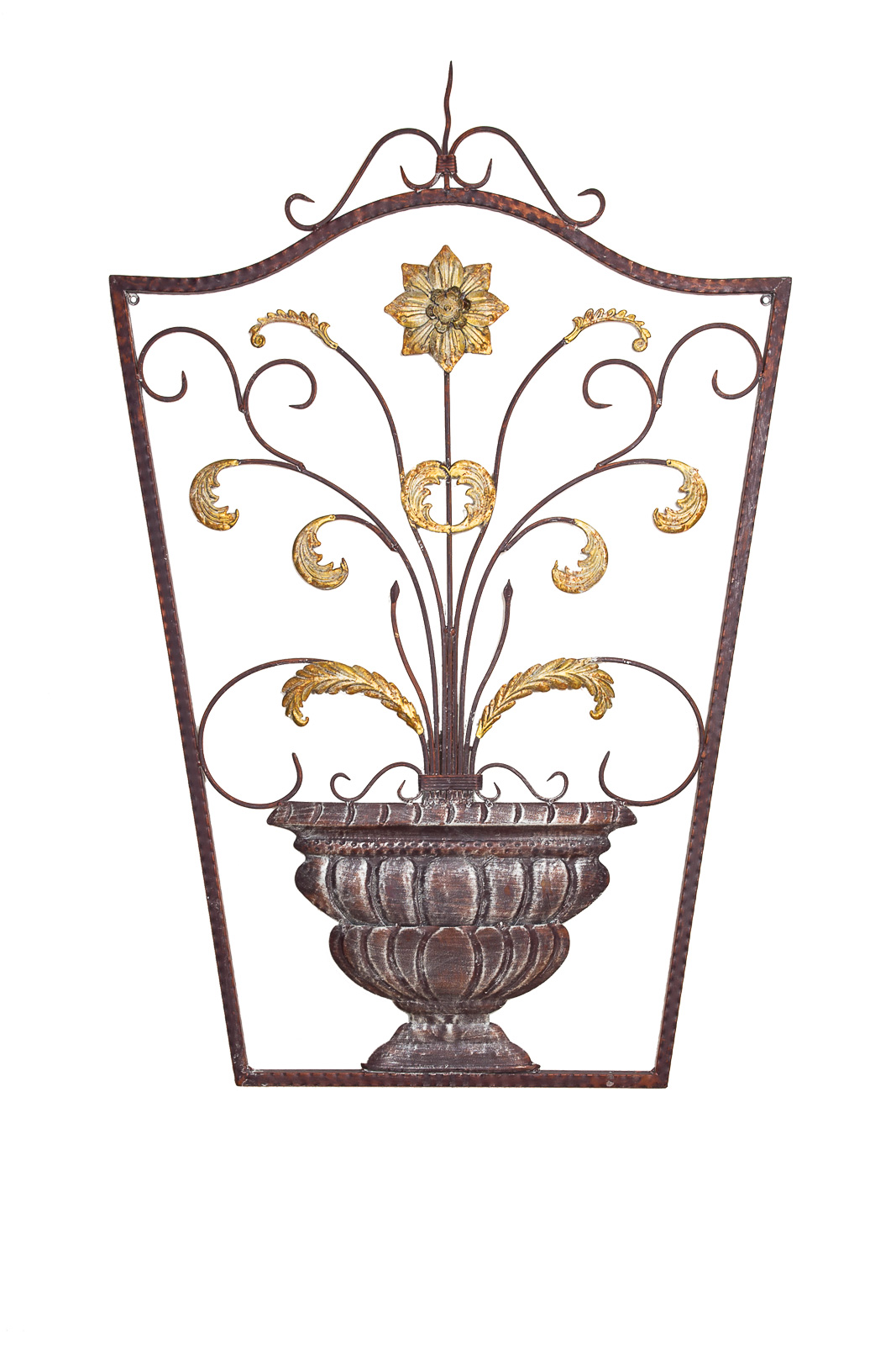 wanddekoration fenster 115cm metall deko garten terrasse wall decoration aubaho. Black Bedroom Furniture Sets. Home Design Ideas
