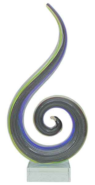 Glasfigur Figur Modern Glas im Murano Antik Stil 25cm