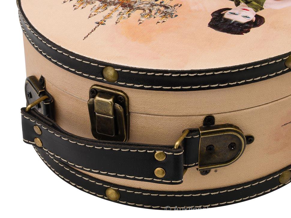 2x koffer beautycase dame box truhe kofferset kosmetikbox. Black Bedroom Furniture Sets. Home Design Ideas