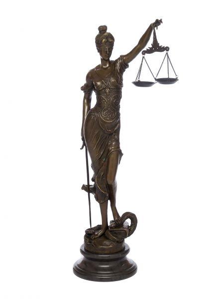 Bronze Justitia Bronzeskulptur Skulptur