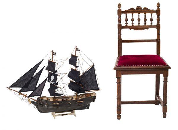 Modellschiff Piratenschiff Piraten Holz Schiffsmodell Schiff Pirat pirate ship