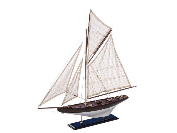 Modellschiff Segelyacht Yacht Holz Schiff Segelschiff Schiffsmodell Maritim ship