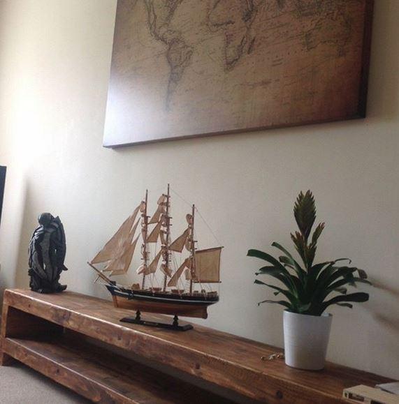 Ein sehr schöner Platz für das Modellschiff. Danke vielmals für das Foto.