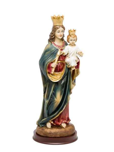 Heiligenfigur Maria mit Jesus Kind 31cm Skulptur Statue Figur Madonna sculpture