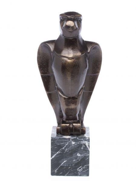 Skulptur Adler Figur aus Metall Bronze-Optik Art Deko antik Stil nach Klimt 42cm