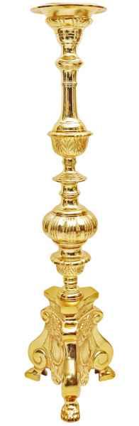 XXL Kerzenleuchter 103cm Altarleuchter Kandelaber Kerzenständer Antik-Stil Altar
