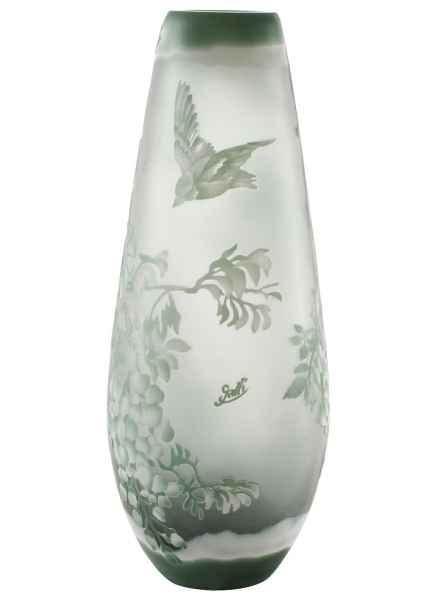 Vase Replika nach Galle Gallé Glasvase Glas Antik-Jugendstil-Stil Kopie c3