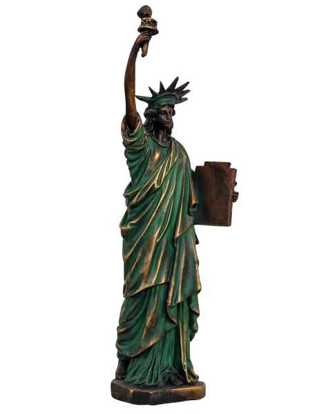 Skulptur Figur USA Freiheitsstatue New York Statue Antik-Stil - 39cm