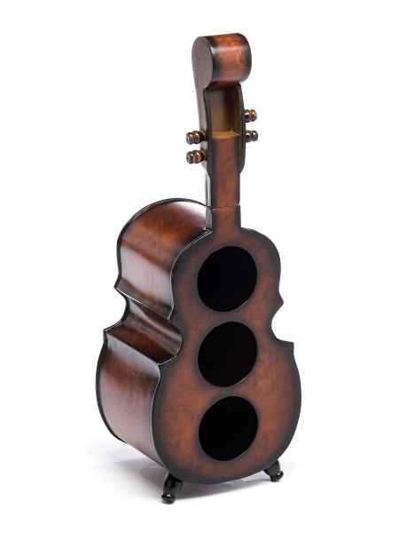 Weinregal 60cm Geige Violine Viola Flaschenregal Flaschenständer Wein Regal