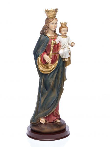 Heiligenfigur Maria mit Jesus Kind 39,5 cm Skulptur Figur Madonna sculpture