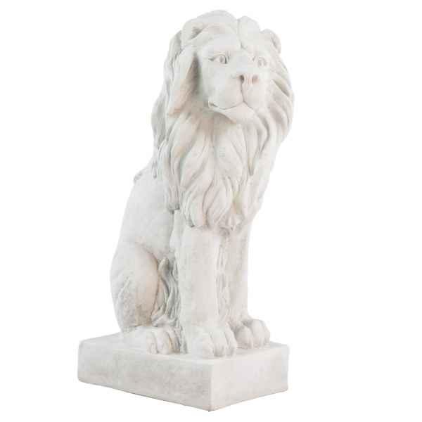 XL Löwe Skulptur Figur Statue Garten Haus Antik-Stil Gartendeko 75cm