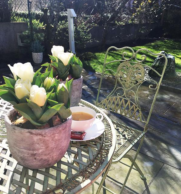 Viel Spaß und schöne Stunden mit und auf unserer Gartengarnitur. Dankeschön für Ihren Einkauf.