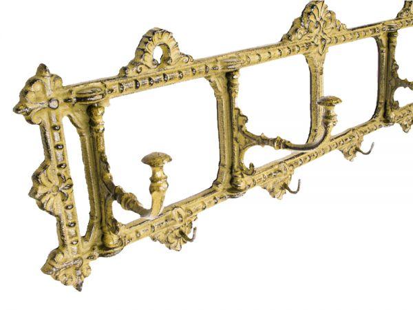 Wandgarderobe Garderobe Jugendstil antik Stil 63cm Kleiderhaken wardrobe metal