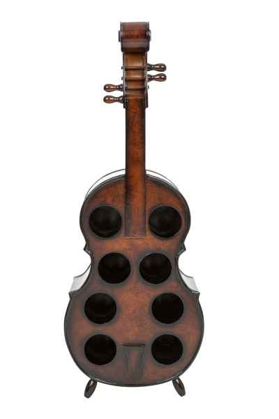 Cello Weinregal Kontrabass Weinständer Flaschenregal Flasche Regal wine rack