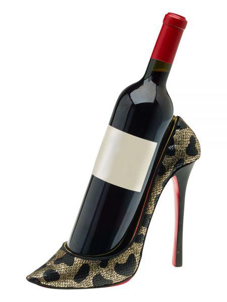 Flaschenhalter Wein Damenschuh High Heel Flaschenständer Weinflaschenhalter wine