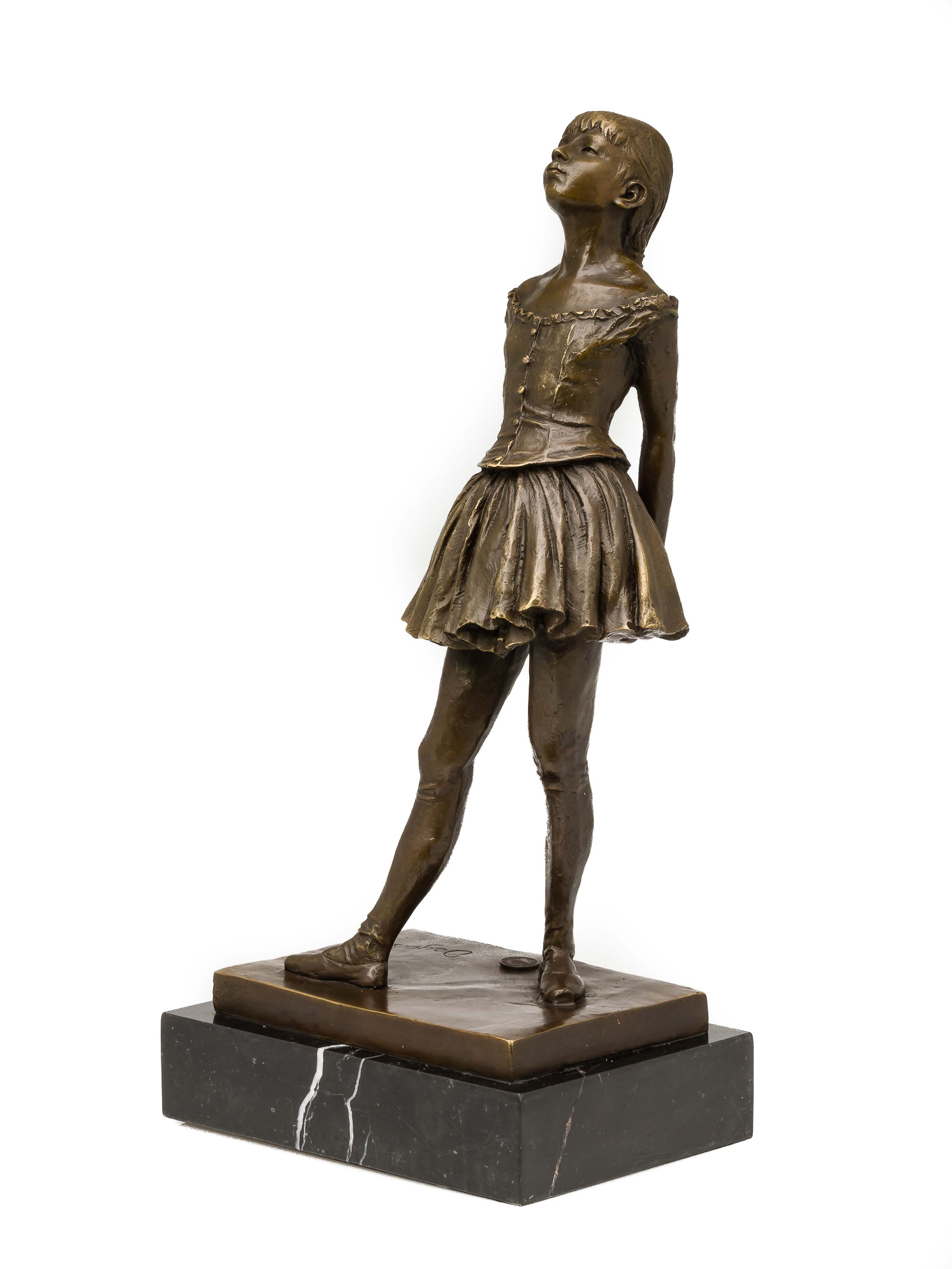 omgång Mer solidaritet  Bronze sculpture, dancer, ballerina, ballet, bronze figure, sculpture,  antique | aubaho ®