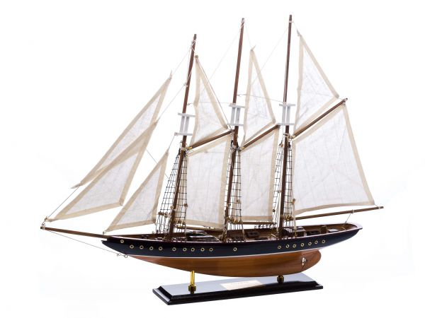 Modelschiff Atlantic Segelschiff Segelyacht Yacht Schiffsmodell Schiff 71cm