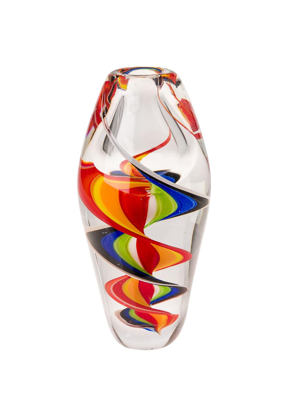 Vasi Da Tavolo.Vaso Da Tavolo Stile Murano Antico Altezza 23 Cm 3 Kg