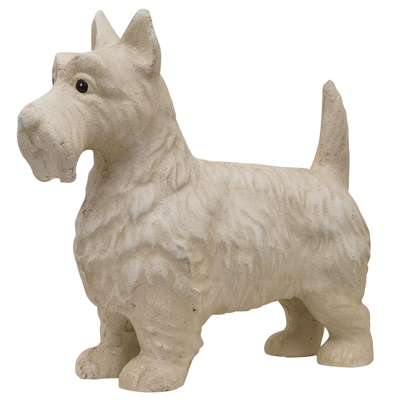23cm Handtuchhalter Wildschwein Kopf Figur Skulptur Eisen Antik-Stil