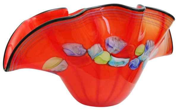 Glasschale Schale Glas im Murano Antik Stil - 50cm