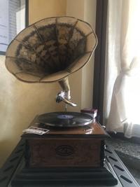 Liebe Veronica, dankeschön für das tolle Foto von unserem Grammophon ! ❤️
