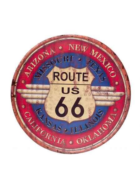 Blechschild Wandschild Route 66 Magnettafel Arizona Amerika USA 60cm Nostalgie