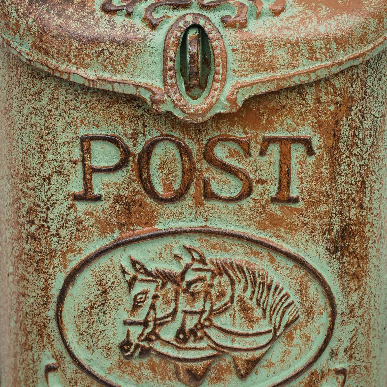 Mur Boîte Aux Lettres Boîte Aux Lettres Post Antique Style Aluguss ALU Boîte aux lettres murale NEUF