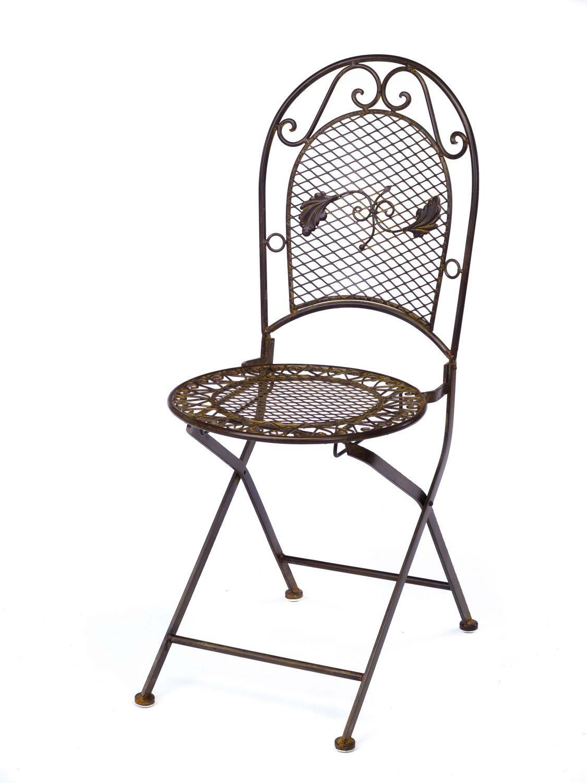 Conjunto mesa 4 sillas de hierro forjado muebles de jard n - Sillas en hierro forjado ...