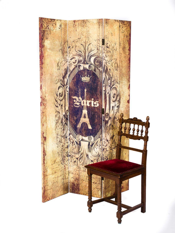 paravent 180x115cm spanische wand raumteiler sichtschutz. Black Bedroom Furniture Sets. Home Design Ideas